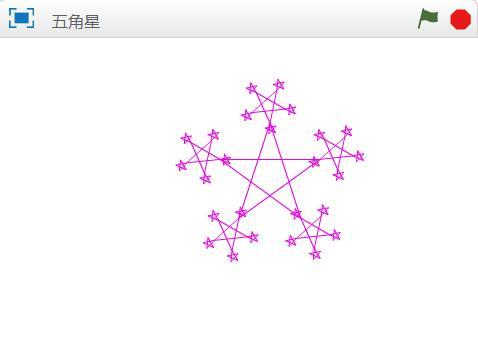 15五角星递归